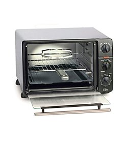 Elite Cuisine Toaster Oven Broiler with Rotisserie