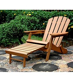Northbeam Faux Wood Adirondack Chair