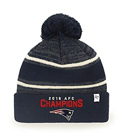 47 Brand® NFL® New England Patriots Conference Champs Fairfax Cuffed Pom Hat