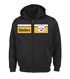 Majestic® NFL® Pittsburgh Steelers Men's Touchback Full-Zip Hoodie