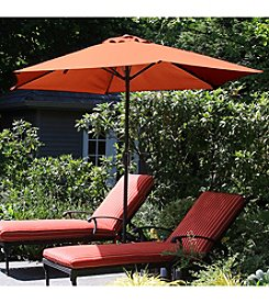 Pure Garden 9' Aluminum Patio Umbrella with Auto Crank