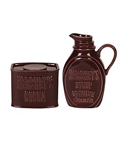 Hershey's By Fitz and Floyd® Syrup-Cocoa Sugar and Creamer Set