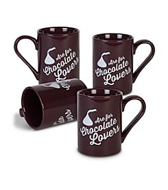 Fitz and Floyd® HERSHEY'S® Set of 4 Chocolate Lovers Mug