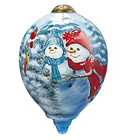 Ne'Qwa Art® A Mother's Love by Dona Gelsinger Petite Princess-Shaped Glass Ornament
