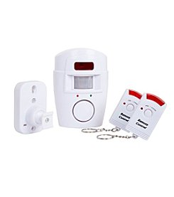 Everyday Home Wireless Motion Sensor Alarm with Wireless Remotes