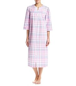 Miss Elaine® Plaid Robe