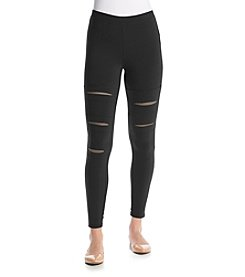 no comment™ Destructed Mesh Leggings