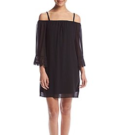 A. Byer Off-Shoulder Dress