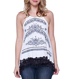 Skylar & Jade™ Embroidered Swing Tank