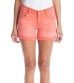 Celebrity Pink Streaky Cuff Shorts