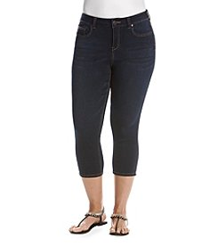 Celebrity Pink Plus Size Cropped Skinny Jeans