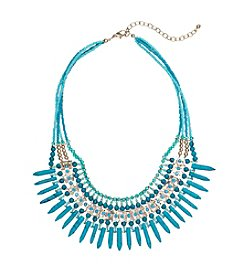 Relativity® Beaded Collar Necklace