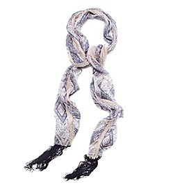 Collection 18 Topanga Paisley Slimmy Scarf