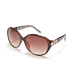 Tahari Oval Sunglasses