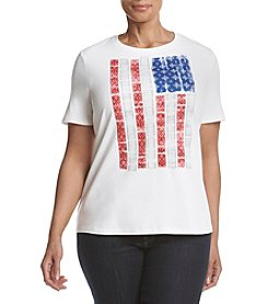 Studio Works® Plus Size Screen Tee