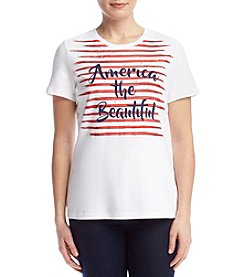Studio Works® Petites' Screen Tee