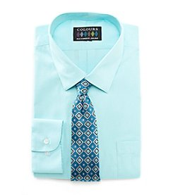 Alexander Julian® Men's Shirt And Tie Set