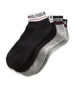 Tommy Hilfiger® Men's Logo Cuff No Show Socks