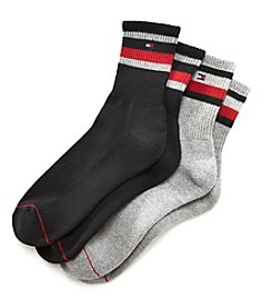Tommy Hilfiger® Men's 2-Pack Short Crew Socks