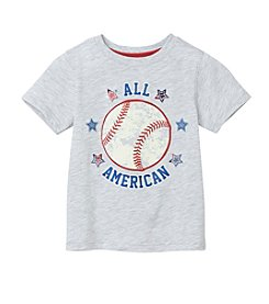 Mix & Match Boys' 2T-4T Short Sleeve Graphic Tee