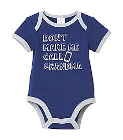 Cuddle Bear® Baby Boys Call Grandma Bodysuit