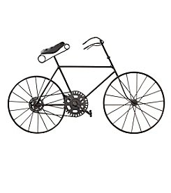 LivingQuarters English Garden Bicycle Wall Art
