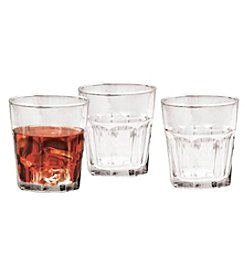 Living Quarters Set of 10 Double Old-Fashioned Glasses