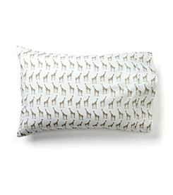 Living Quarters Loft Giraffe 225-Thread Count Set of 2 Pillowcases