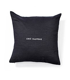 kate spade new york® Chic Happens Decorative Pillow