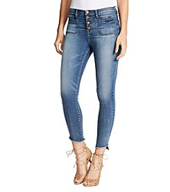 William Rast™ High-Rise Ankle Skinny Jeans