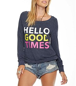 Chaser® Hello Good Times Tee
