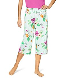 HUE® Jungle Floral Capri Pants