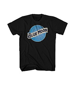 Mad Engine Men's Big & Tall Blue Moon Logo Tee