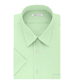 Van Heusen® Men's Short Sleeve Dress Shirt