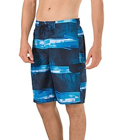 Speedo® Men's Setting Sun Stripe E-Board Shorts