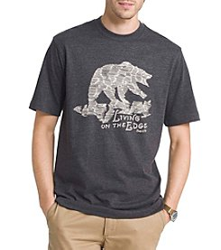 G.H. Bass & Co. Men's Graphic Livin On The Edge Tee