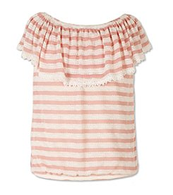 Speechless® Girls' 7-16 Peasant Top
