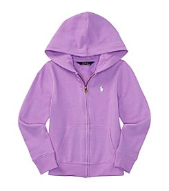Polo Ralph Lauren® Girls' 7-16 Atlantic Knit Hoodie