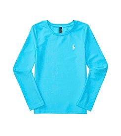 Polo Ralph Lauren® Girls' 7-14 Rash Guard Swim Coverup