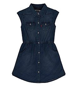Levi's® Girls' 7-16 Cap Sleeve Woven Dress