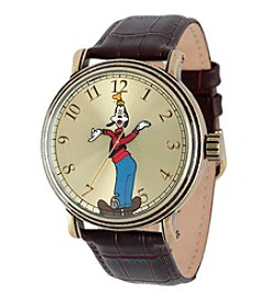 Disney® Goofy Men's Antique Gold Vintage Alloy Watch
