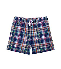 Polo Ralph Lauren® Boys' 8-20 Poly-Traveler Swim Boxer Shorts