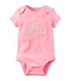 Carter's ® Baby Girls' Little Sister Bodysuit