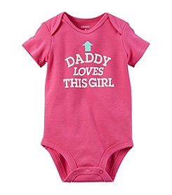 Carter's® Baby Girls' Dad Loves Me Bodysuit