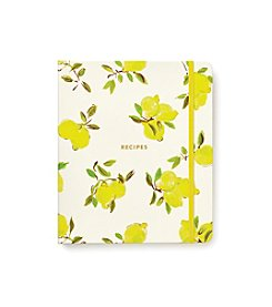kate spade new york® Lemon Recipe Book