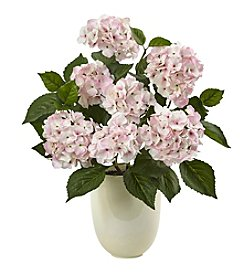 Nearly Natural® Hydrangea with Planter