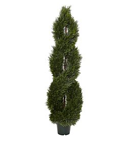 Nearly Natural® 5' Pond Cypress Spiral Topiary