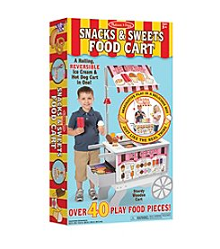 Melissa & Doug® Snacks & Sweets Food Cart