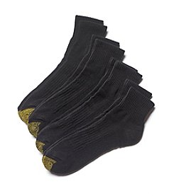 GOLD TOE® Men's Casual Quarter Socks
