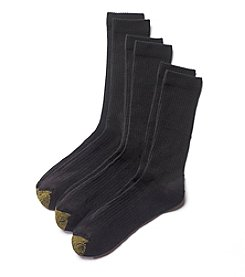 GOLD TOE® Men's Casual Crew Socks